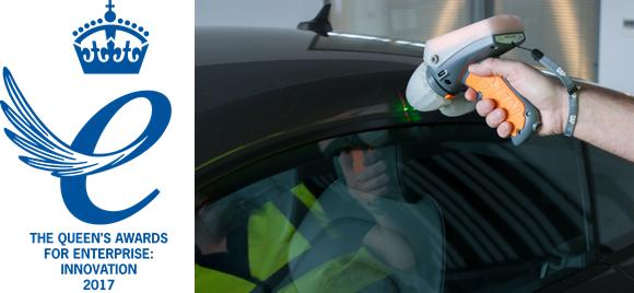 GapGun Pro measuring car